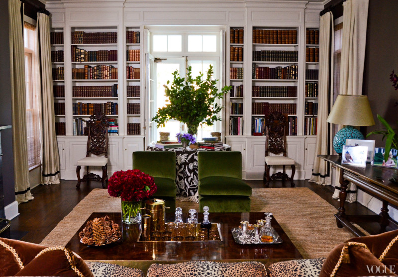 Aerin Lauder's East Hampton home that she inherited from her grandmother Estee Lauder. Glamour overload!