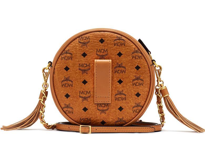 MCM Rabbit Tambourine Bag Small Cognac_1