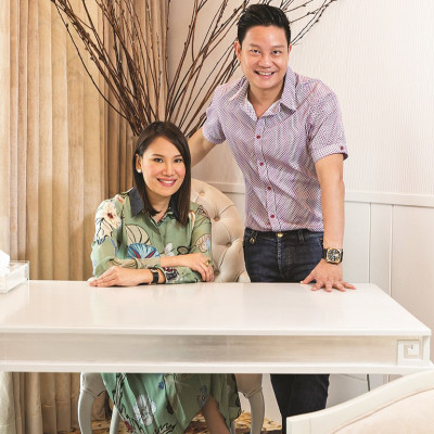 The young and beautiful It couple: Dr. Z and Aivee Teo